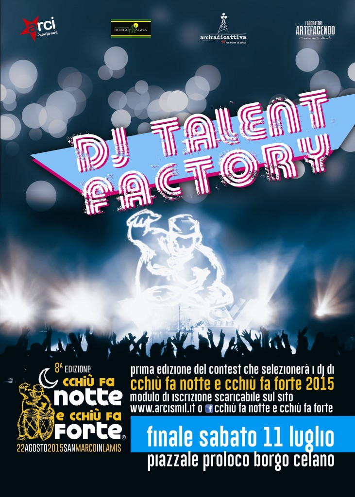 dj talent factory web