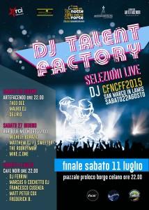 dj talent factory selezioni live